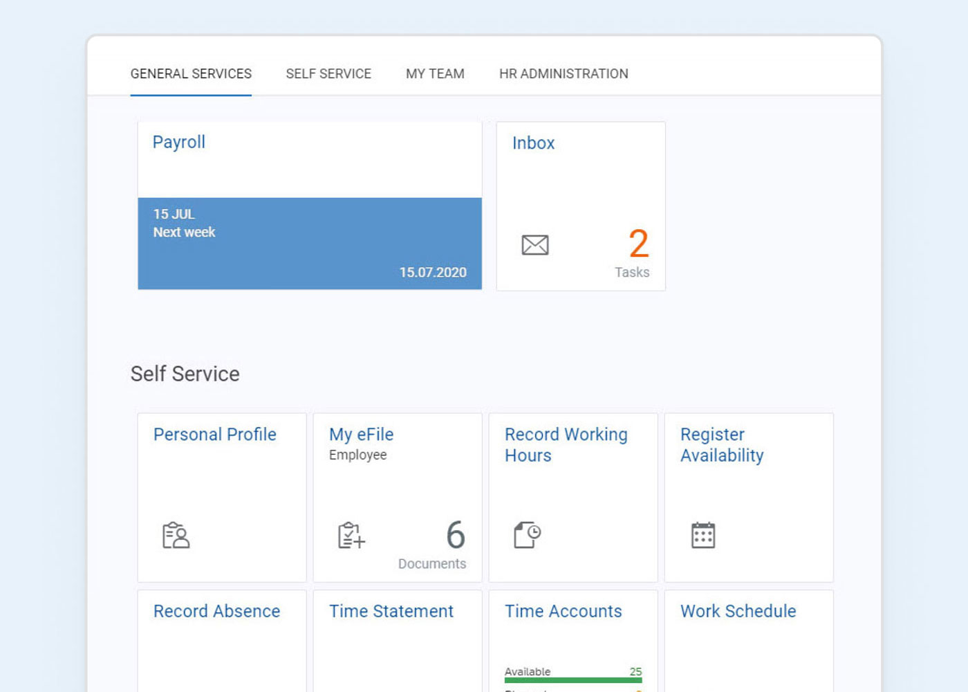 Payroll-screen